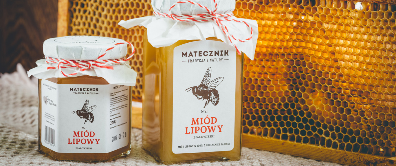 Matecznik Tradition from Nature - Białowieża Linden Honey