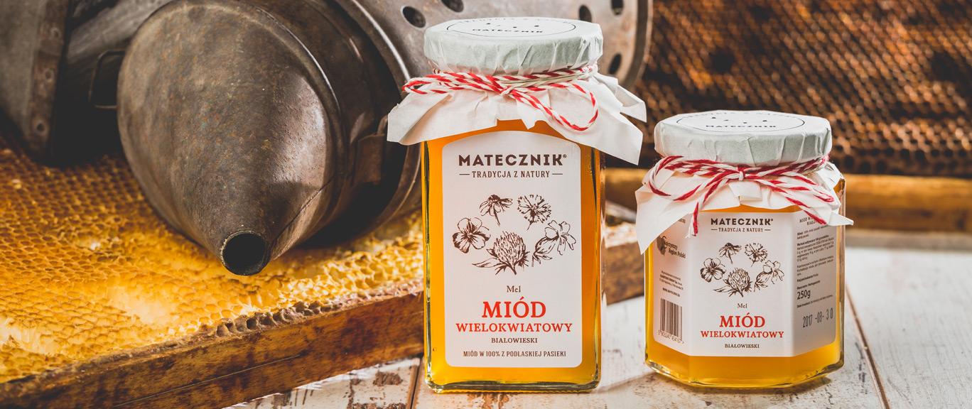 Matecznik Tradition aus Natur - Mischblütenhonig aus Białowieża