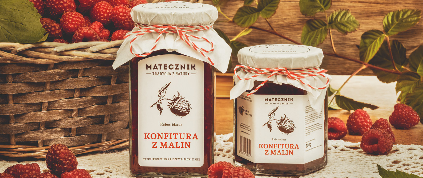 Matecznik Tradition from nature - Raspberry jam